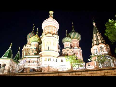 Kremlin and Red Square before 9th May 2016 parade