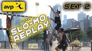 McKibbin/McKibbin vs. Paulis/Samuels | 2nd Set AVP Manhattan Beach Open