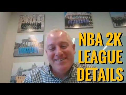 NBA 2K League Managing Director Brendan Donohue Talks Selection Process, Salaries & More