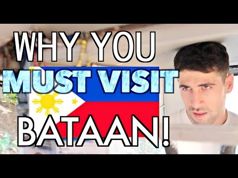 Manila to Bataan in 45 MINUTES by FERRY! Discovering BATAAN Province 🇵🇭