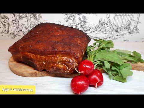 Свиные рёбрышки с соусом барбекю в духовке.