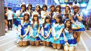 Fascinate Maiden cover Morning Musume'16 at Japan Festa 2016 in Ban...