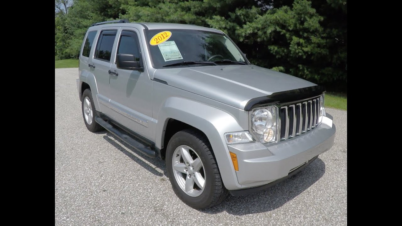 2012 Jeep Liberty Limited 4X4|P10405 - YouTube