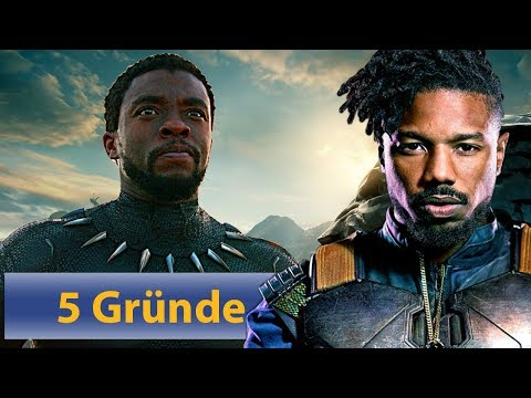 Black Panther | 5 Gründe den Film zu gucken! (feat. Florence Kasumba)