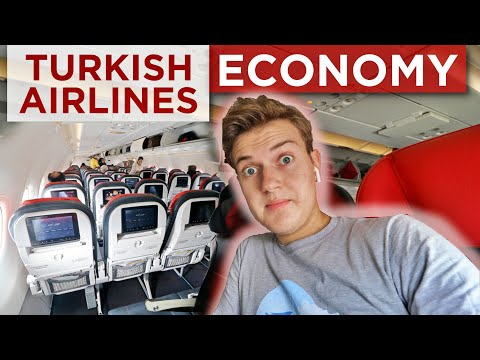 Turkish Airlines ECONOMY CLASS + NEW ISTANBUL AIRPORT