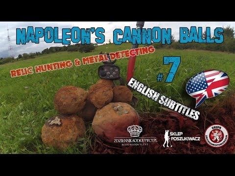 SaperkaTV- Wykopki 2016 Napoleon's Cannon Ball / Napoleońskie Kule/ Relic Hunting #7
