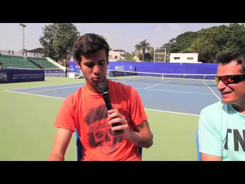 Thumbnail: ACO 2016- Karen Khachanov candid with the coach