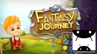 Fantasy Journey Match 3 Android GamePlay Trailer (1080p) (By Webelinx Games) [Game For Kids]