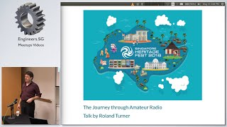 The Journey through Amateur Radio - Singapore Heritage Festival