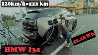 BMW i3s 120ah (42,2kWh) - Winterreichweite Autobahn