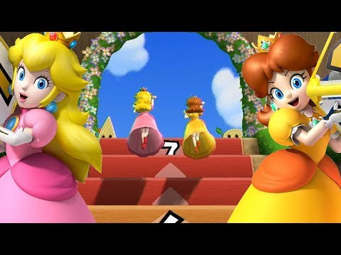 Mario Party 9◆Step It Up #115 Peach and Daisy Draw - Tie Game for 7 wins Congratulations