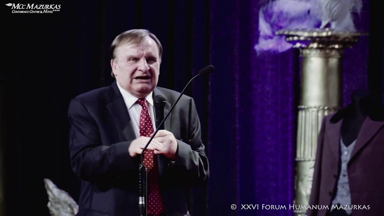 XXVI FHMazurkas - Benefis Paulosa Raptis - Sławomir Pietras -słowo dla Jubilata