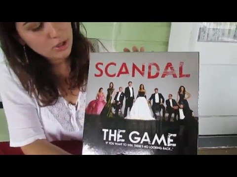 Scandal The Game: Unboxing