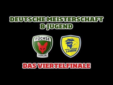 DM-Viertelfinale B-Jugend Füchse Berlin - Rhein-Neckar Löwen