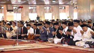 Presiden Jokowi Salat Idulfitri 1440 H/2019 M, Jakarta, 5 Juni 2019