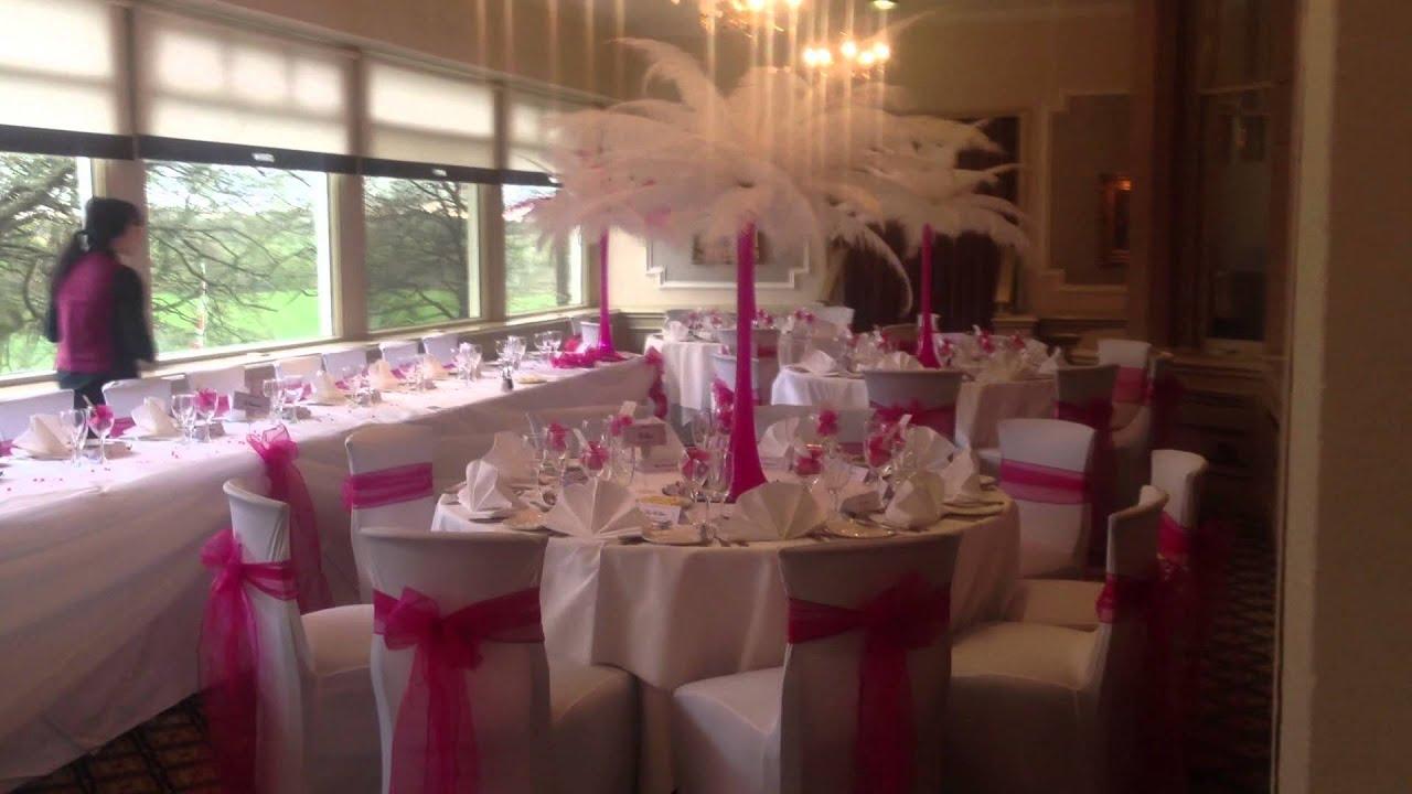 Norton Grange Hotel Rochdale AA Decorative Events Wedding Venue Dressing