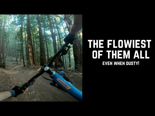 Ripping Berms on the Soquel Demo Forest Flow Trail- SO MUCH FUN!