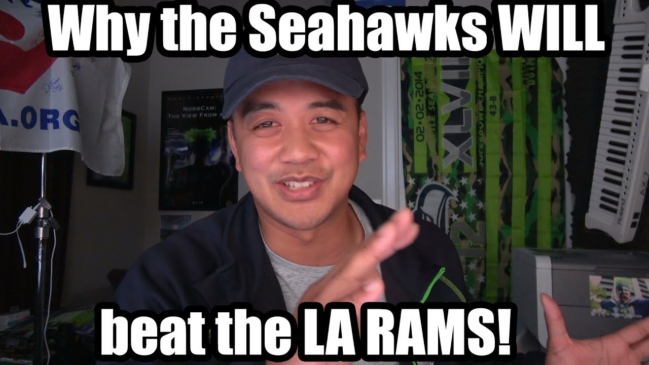 Here S Why The Seahawks Will Beat The Rams My Hamstring Tear Caught On Video Youtube