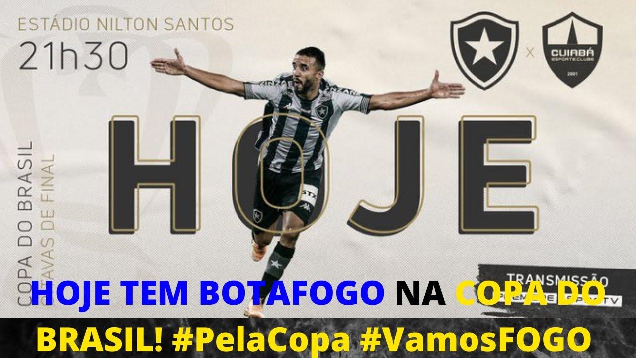 HOJE TEM BOTAFOGO NA COPA DO BRASIL!⭐🔥 #PelaCopa #VamosFOGO