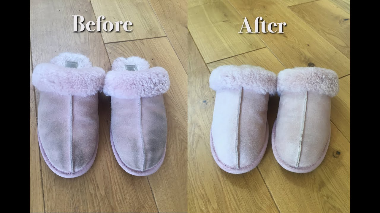 Ugg Cleaning Hack - YouTube