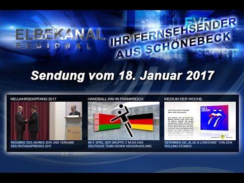 ELBEKANAL Sendung vom 18. Januar 2017