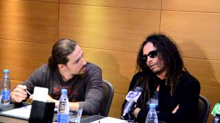 KORN in Kiev, press-conference. About the Pussy Riot 28.08.12(, 2012-08-28T20:08:16.000Z)