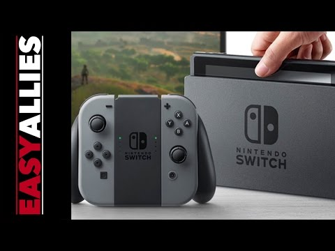 Nintendo Switch (NX) Reveal Reactions - Easy Allies