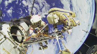 Visite commentée en 3D de la Station spatiale internationale