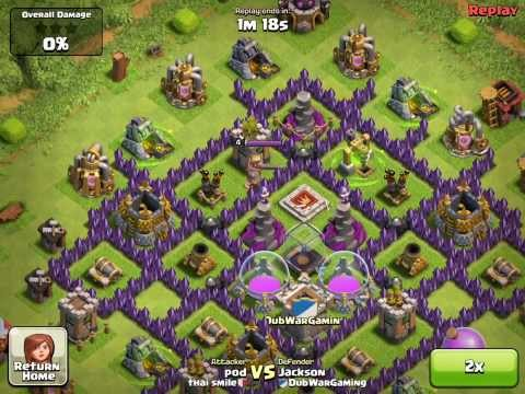 Clash of Clans- Witches on Defense