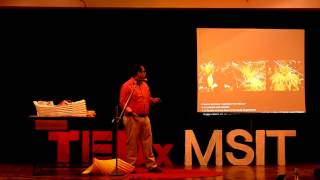 The Magical World Of Origami | Ankon Mitra | TEDxMSIT