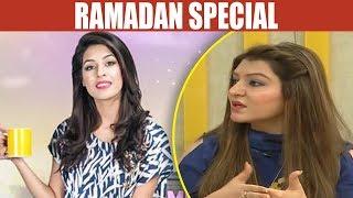 Ramadan Special - Mehekti Morning With Sundas Khan - 16 May 2018 - ATV