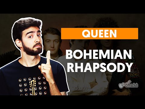 BOHEMIAN RHAPSODY - Queen  simplificada  Como tocar no violão