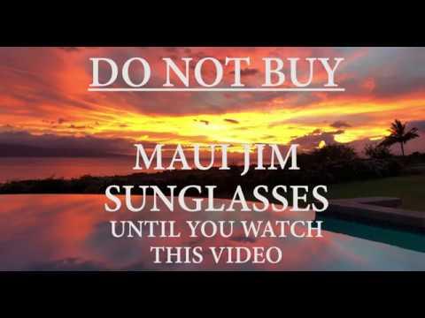 Maui Jim Sunglasses Review