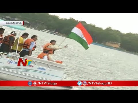 CM Chandrababu Naidu launches F1H2O Power Boat Championship in Amaravati | NTV