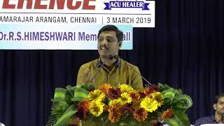 Acu Healer Umar Farook @ Acupuncture healers conference