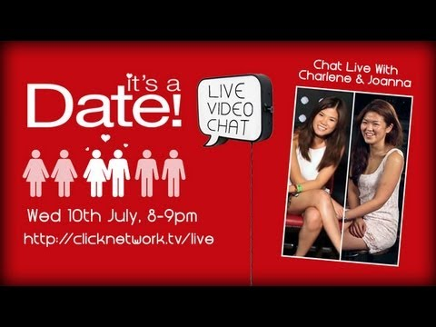 It's a Date! Live Chat with Charlene & Joanna (10th July)
