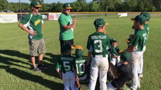 Little League Pregame Speech - Announcing the Lineup