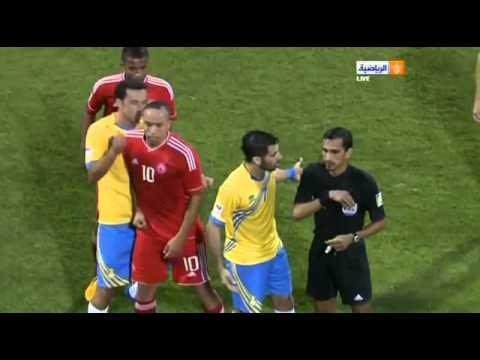 Demi finale Stars Cup au Qatar bagarre Nene vs Houssine Kharja
