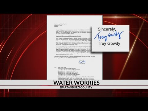 Homeowners enlist Trey Gowdy in battle with Spartanburg Water