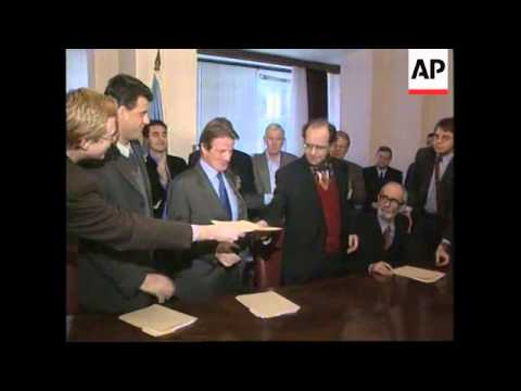 KOSOVO: POWER SHARING AGREEMENT SIGNED (2)
