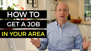 How To Find A Job In Your Area - Job Hunting Tips