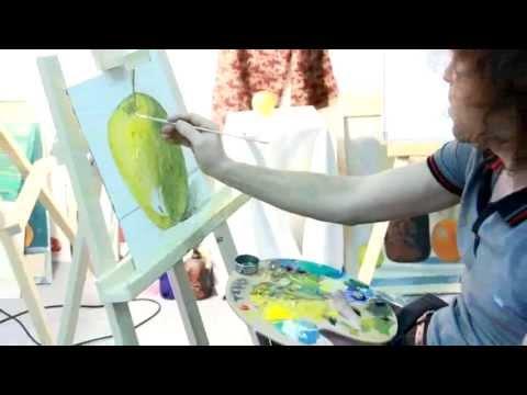 Как разбавлять масляные краски
