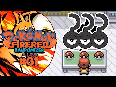 Pokemon FireRed Randomizer Nuzlocke - Episode 1 | NO WAY!!!