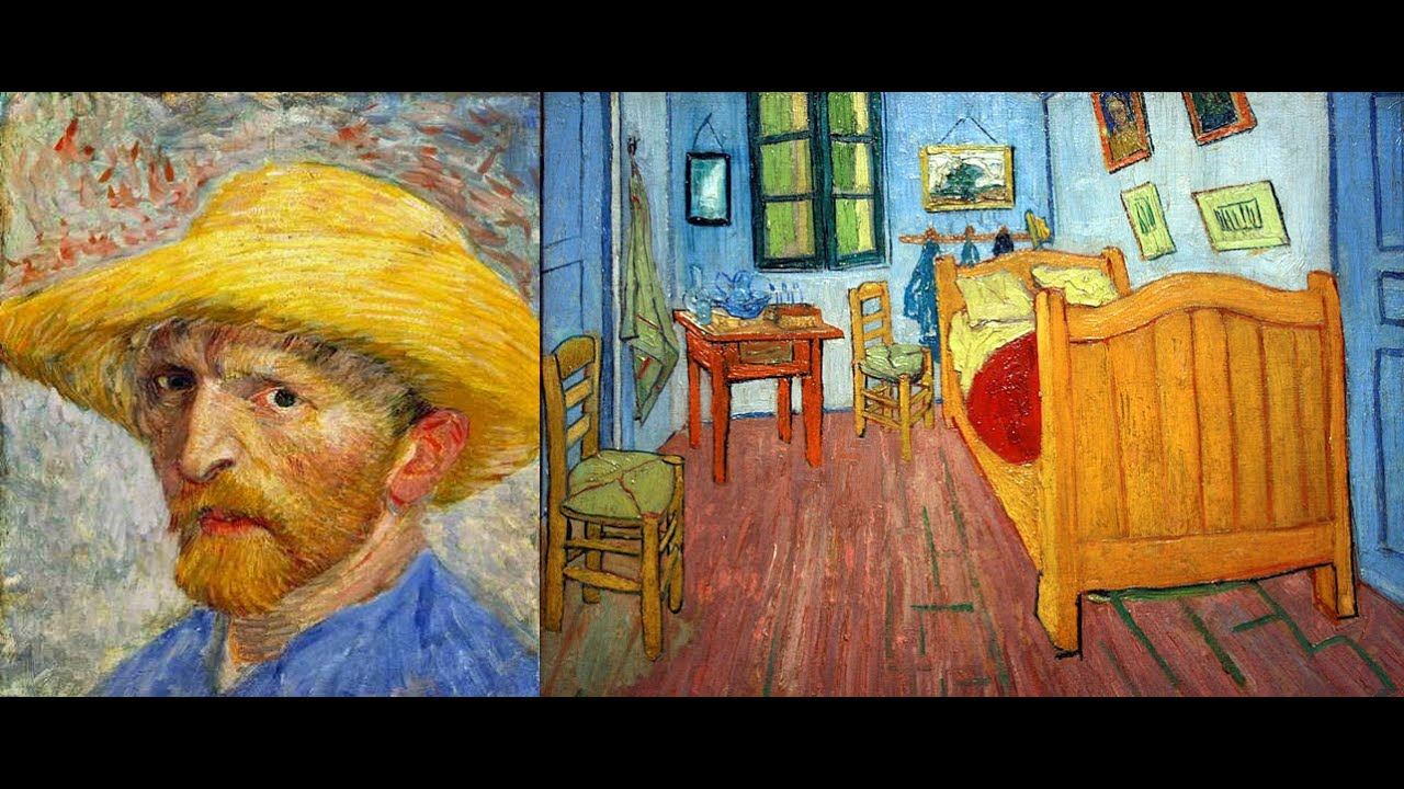 La camera di Vincent ad Arles con lettere / Vincent van Gogh 1888