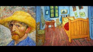 La Camera Di Vincent Ad Arles Con Lettere Vincent Van Gogh 1888 Youtube