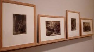 Obras de la exposición de obras restauradas por el Bellas Artes y la Fundación Iberdrola