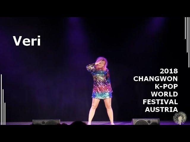 [2018 ChangFe Austria Finals] Veri / Red Velvet (레드벨벳) - Peek-A-Boo (피카부)