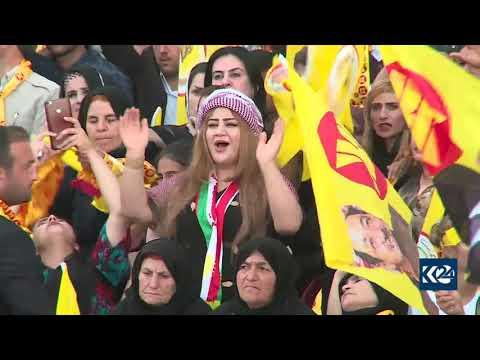 گوتاری مەسروور بارزانی لە کەرنەڤاڵی پشتیوانی لیستی پارتی لە سۆران - Masrour Barzani