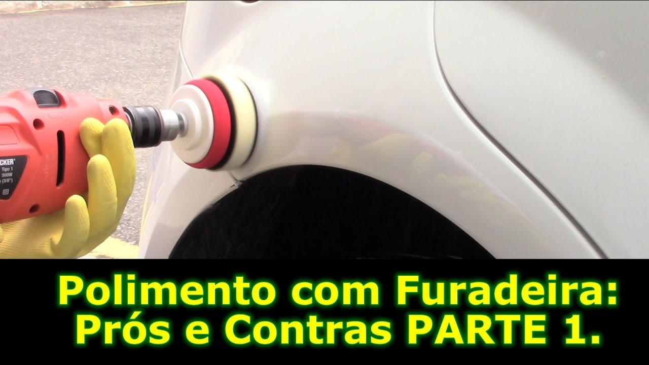 Dicas de Polimento Automotivo 9  Polir com furadeira  - YouTube 61bb96ef7d8