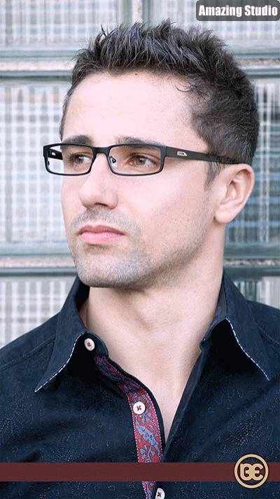 S Short Hairstyles For Men With Glasses - YouTube